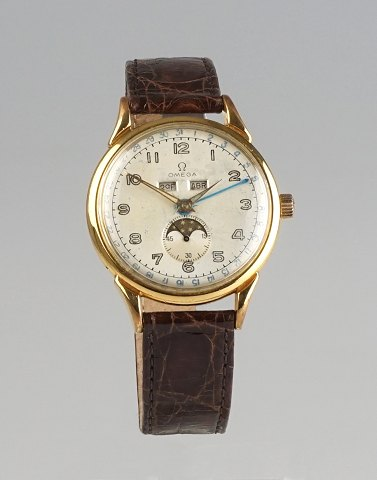 Omega Cosmic Triple Date Moonphase, cal. 381. 