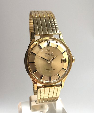 Omega Constellation Automatic Pie Pan, 18kt guld, 